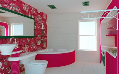 The Barbie Doll Bathroom