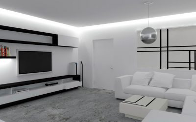 A Minimalist Modern Apartment In White