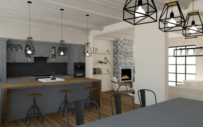 Modern Country House Meets Industrial