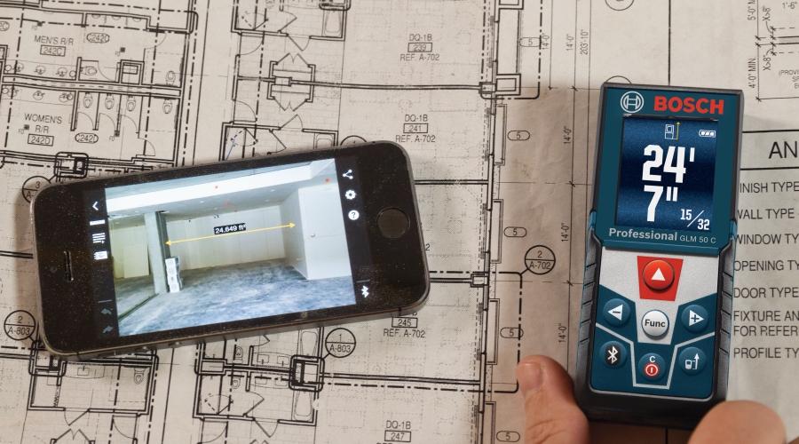 REVIEW: Bosch Laser Distance/Range Measurer (Video)