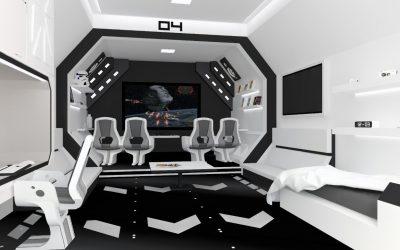 Star ship custom made furniture