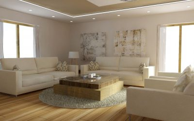 Living Space With A Small Touch Of Elegance