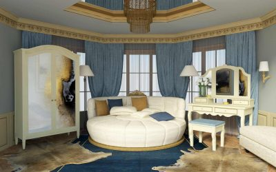 Boudoir Interior Inspired by Louis-Era French Design